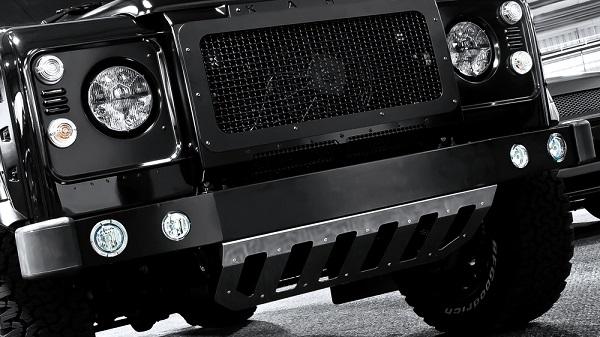 LAND Rover Defender Paraurti Anteriore con Luci LED INTEGRATA-DA9500