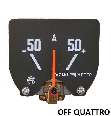 Amperometro 12/24 v per Toyota Land Cruiser BJ/FJ/HJ 40 post 1980 OEM-0