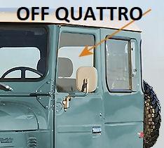 Vetro finestrino per Toyota Land Cruiser BJ/FJ/HJ 40-0