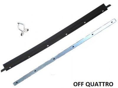 Clip per guarnizione a spazzola finestrino per Toyota Land Cruiser BJ/FJ/HJ 40 1963-1974 OEM-0