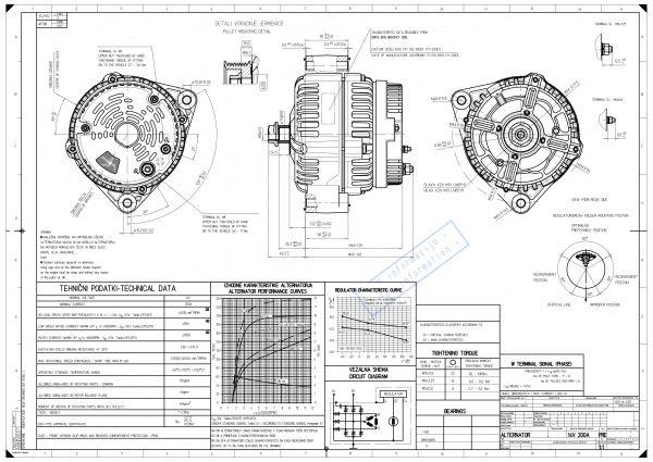 Alternatore 12/24v 110/200 Ampere - Red Winch-148928