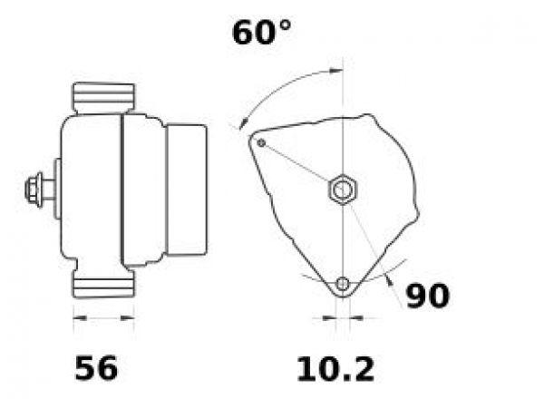 Alternatore 12/24v 110/200 Ampere - Red Winch-148927