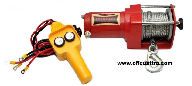 Verricello Dragon Winch DWM 2000 ST YP-0