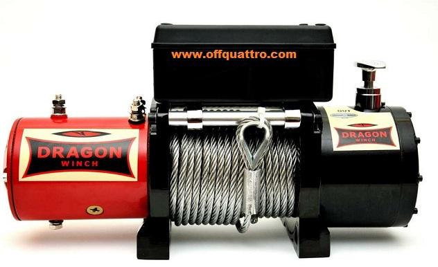 Verricello Dragon Winch DWM 8000 HD-0