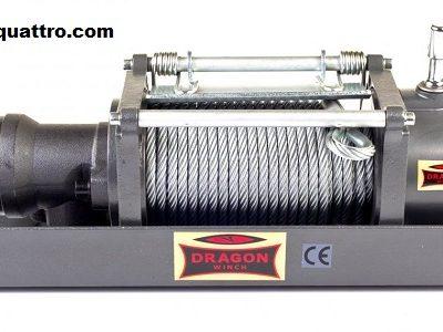 Verricello Dragon Winch Hidra DWHI 12000 HD Control Set Mounting Plate-0