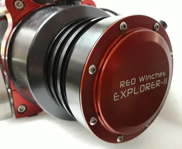 Verricello Red Winches Explorer 2-154432