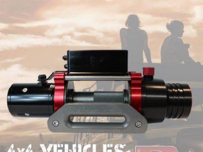 Verricello Red Winches Explorer 2-0