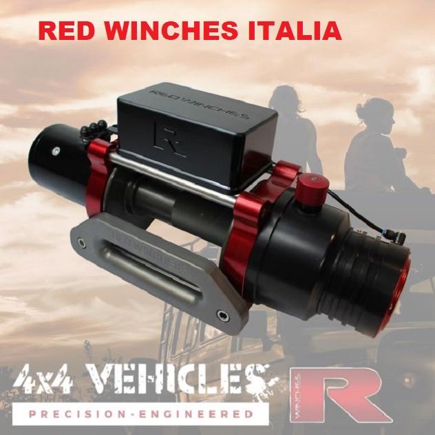Verricello Red Winches Explorer 2-154434