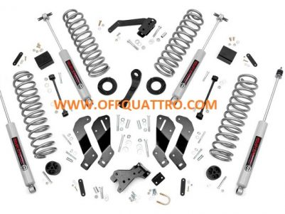 "3.5"" JEEP SUSPENSION LIFT KIT WITH CONTROL ARM DROP ROUGH COUNTRY - WRANGLER JK 2 DOORS-0"