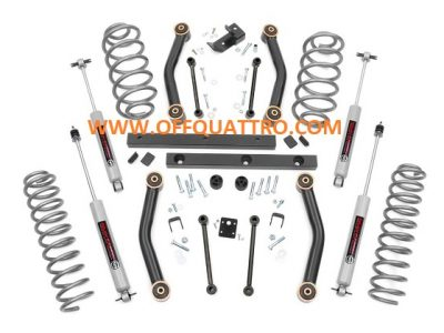"4"" ROUGH COUNTRY LIFT KIT - JEEP WRANGLER TJ 97-02-0"